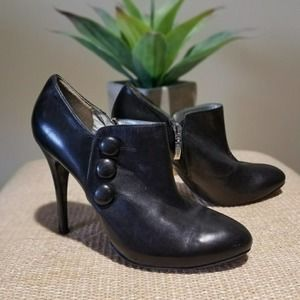 Guess by Marciano black ankle leather boots